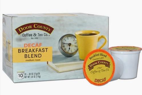 Breakfast Blend Decaf 10 count