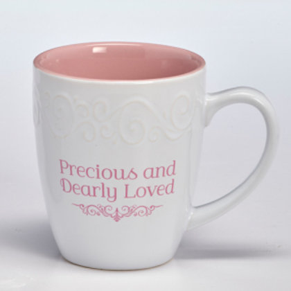 Precious and Dearly Loved Ceramic Mug