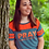 Thumbnail: Pray Without Ceasing Striped Crop Shirt - Express Yourself