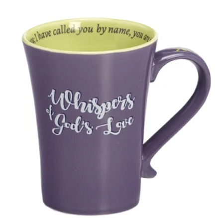 Whispers of God's Love Ceramic Mug