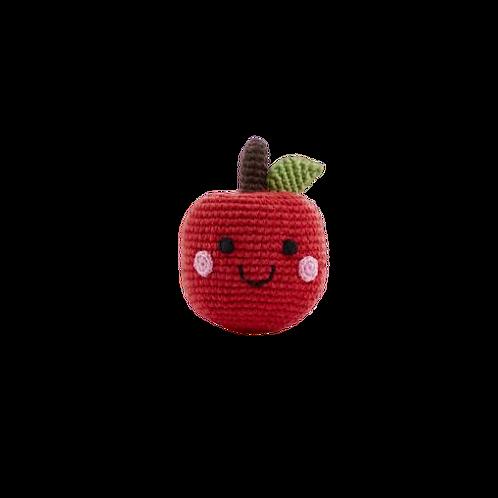 Friendly Apple Rattle