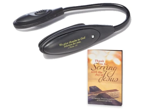 Serving with the Joy of Jesus Booklight w/Free Gift Book