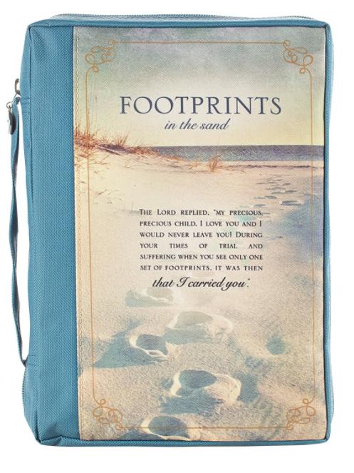 Footprints Poly-canvas