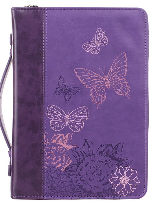 New Creation Purple Faux Leather