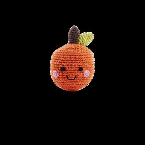 Friendly Orange Rattle