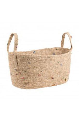 Bright Bits Oval Basket