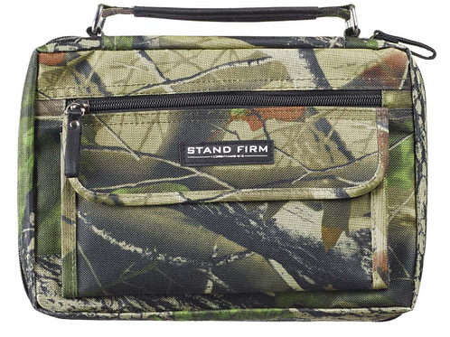 Stand Firm Camo Poly Canvas Organizer