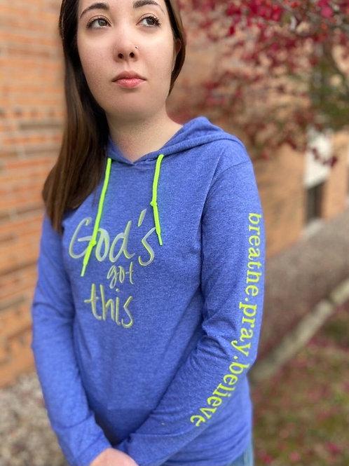 God's Got This Lightweight Hoodie - Express Yourself