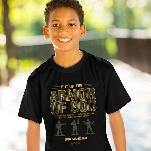 Kerusso Kids T-Shirt Put On The Armor Of God