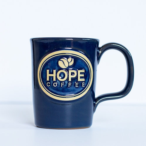 HOPE Coffee 10 oz Handcrafted Stoneware Mug