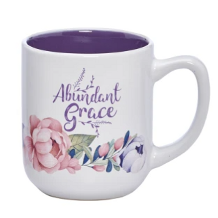 Abundant Grace Ceramic Mug