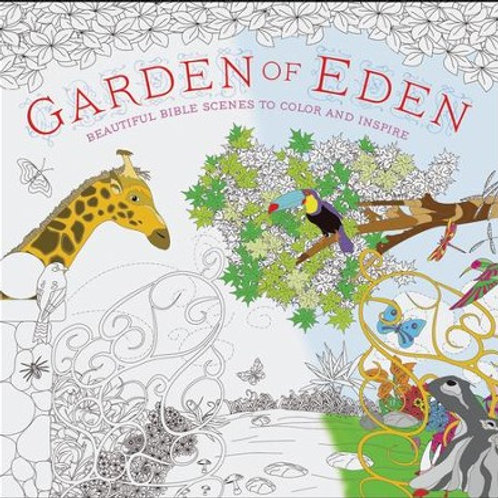 Garden of Eden Coloring Book