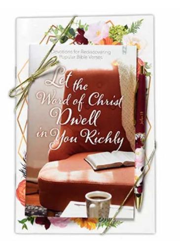 Let the Word of Christ Dwell Journal