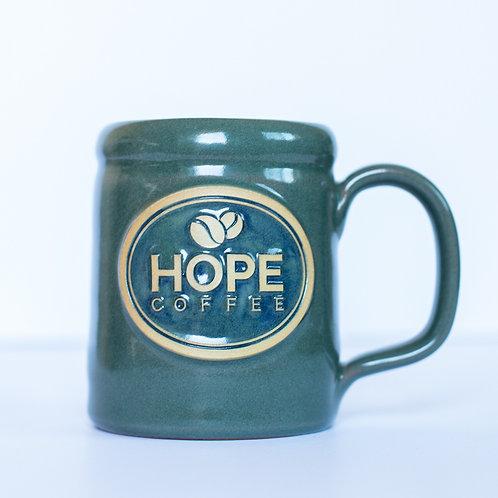 HOPE Coffee 14 oz Handcrafted Stoneware Mug