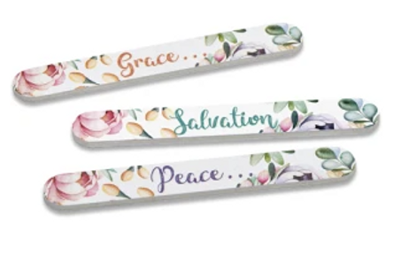 Abundant Grace Emery Boards 3-pk