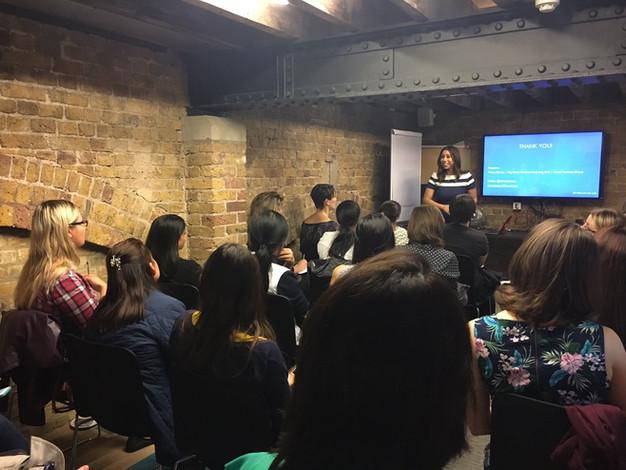 Inspiring Women in Data Science Meetup
