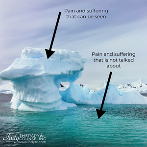 Iceberg: Pain and Suffering with Grief and Trauma