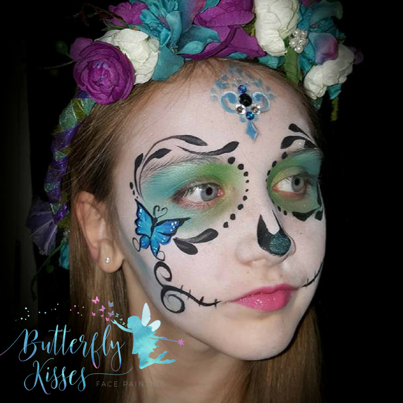 butterfly kisses sugar skull (1)