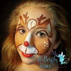 square design, watermark Reindeer