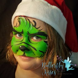 square design, watermark grinch