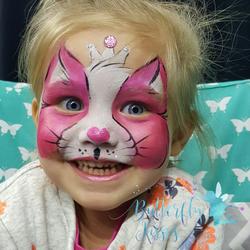 square design, watermark kitty princess