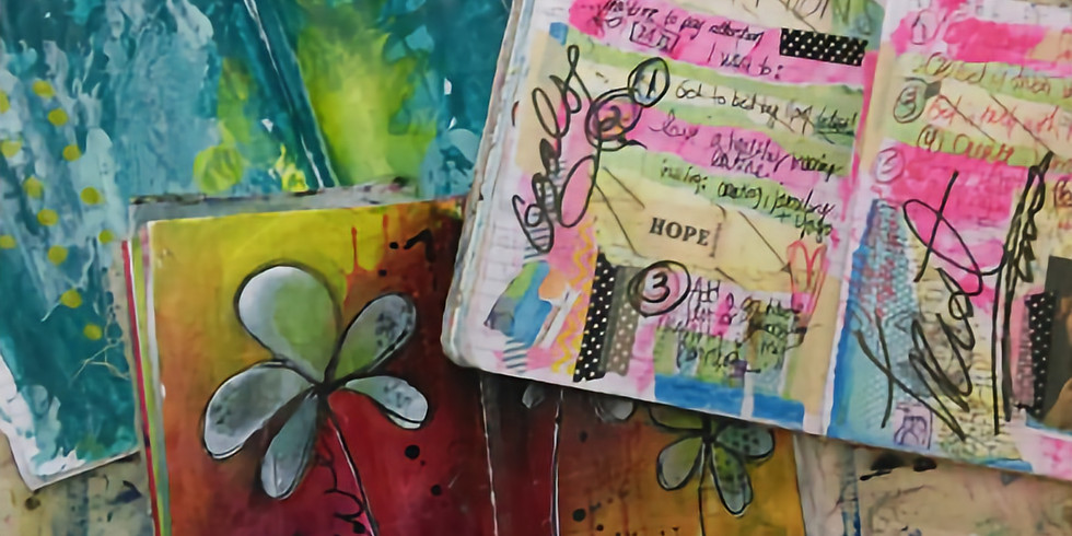ART JOURNALING - A JOURNEY OF THE HEART