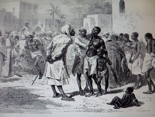 Рабство чepных на Ближнем Востоке
