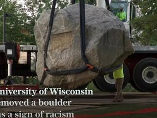 Университет штата Висконсин потратил 50 тыс. на перенос валуна
