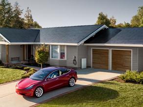 О солнечной крыше Tesla.