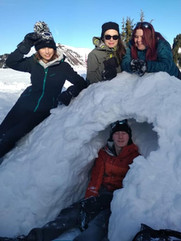 Sous un igloo