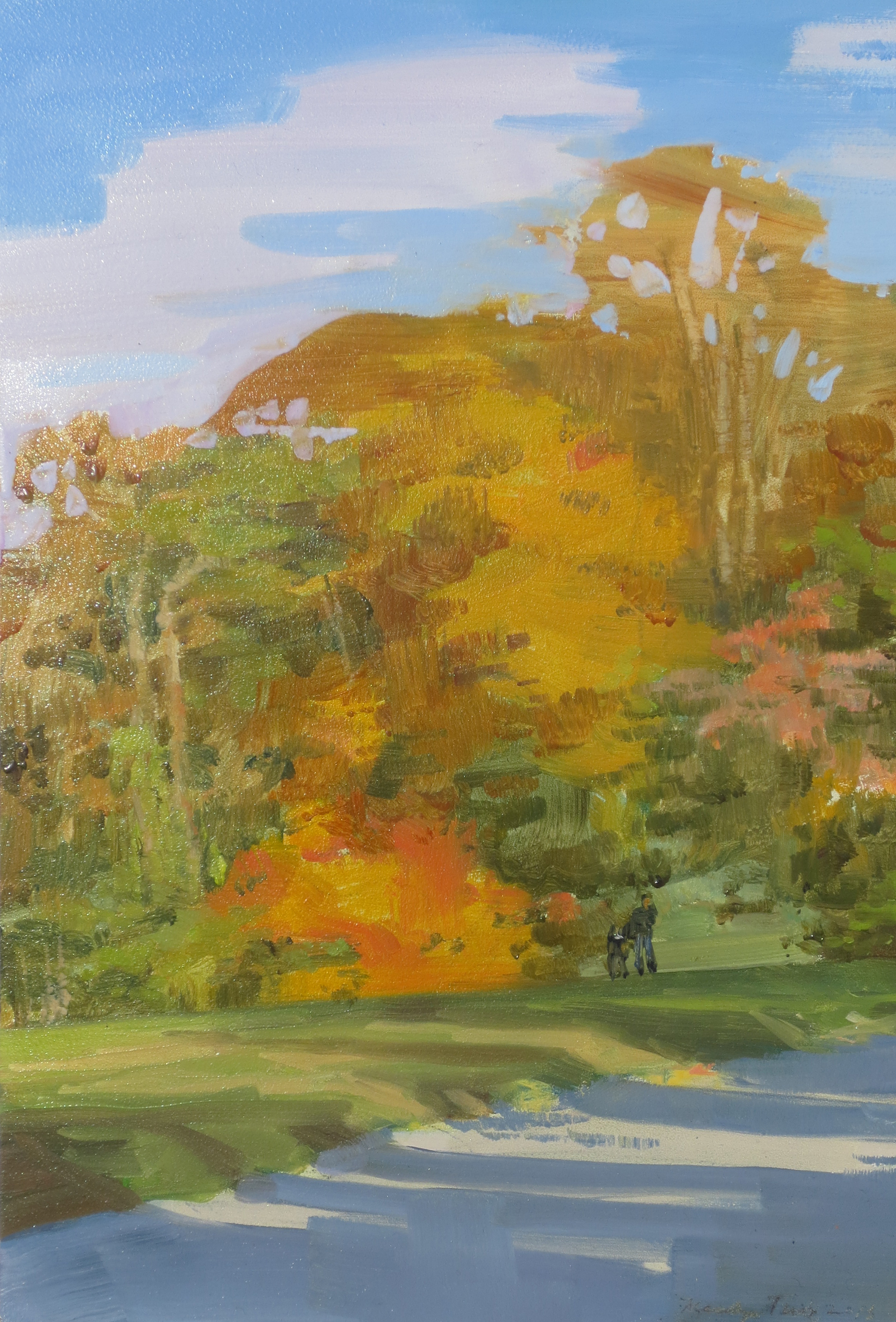 Painting With Susan in Autumn