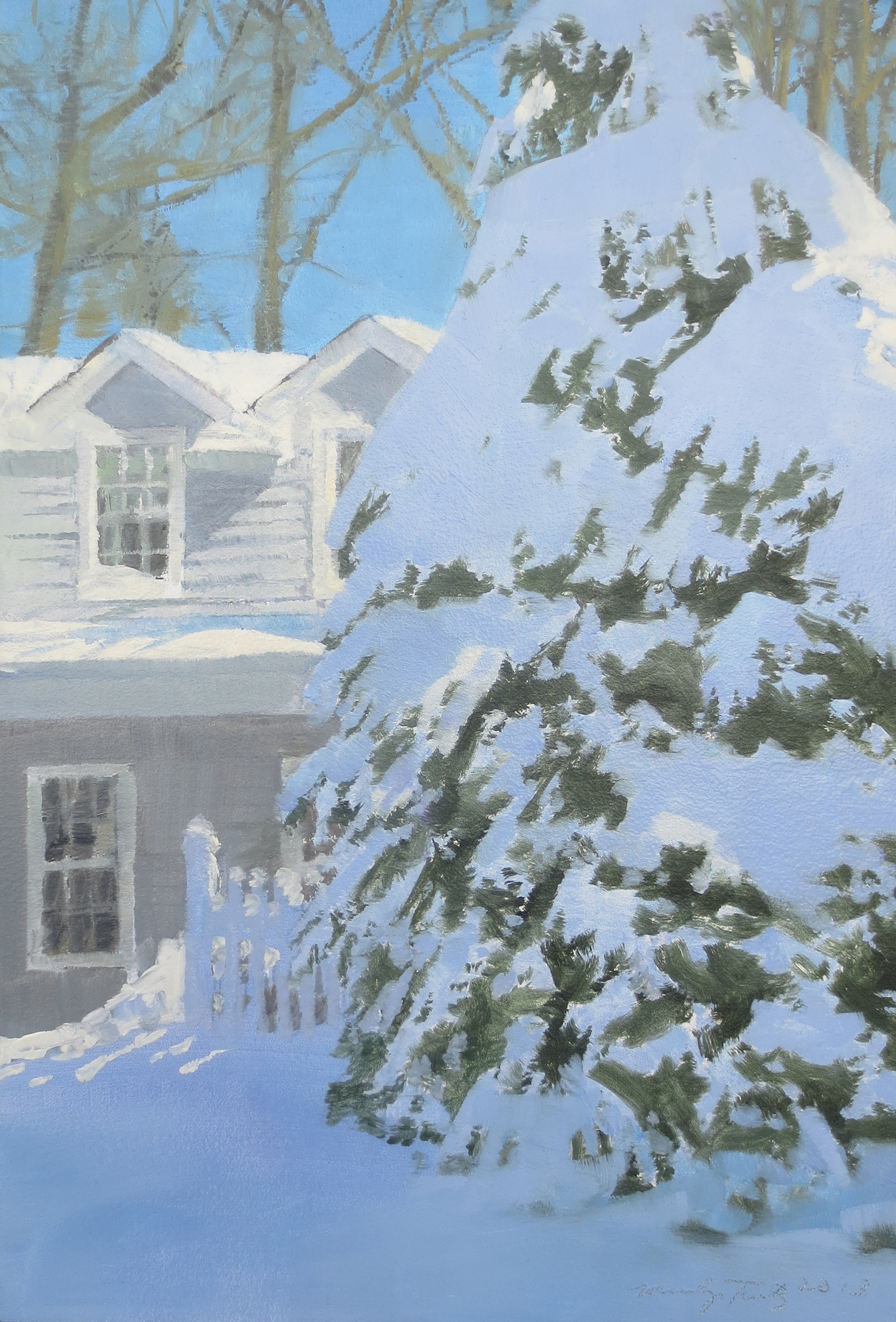 Anne's House in Snow