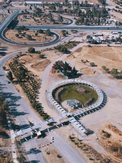 Plaza y Pabellón de acceso Laguna Carén