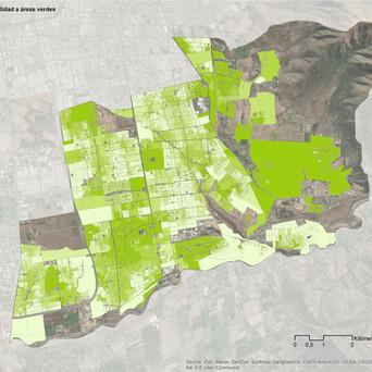 Estrategia comunal de áreas verdes
