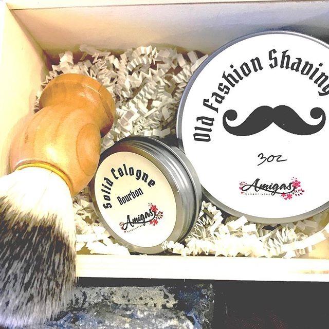 Shaving gift box