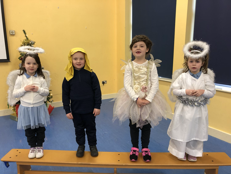 "Junior & Senior Infants Christmas Play 2020. ""It's a baby"". Meet the cast!"