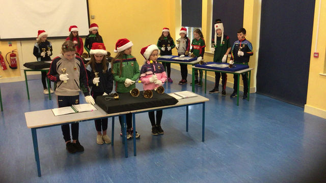 Happy Christmas from 5th and 6th Class