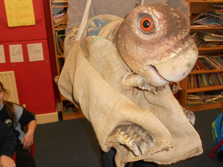 A visit from Heritage in Schools!