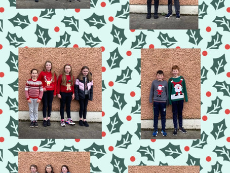 Christmas in 5th and 6th Class