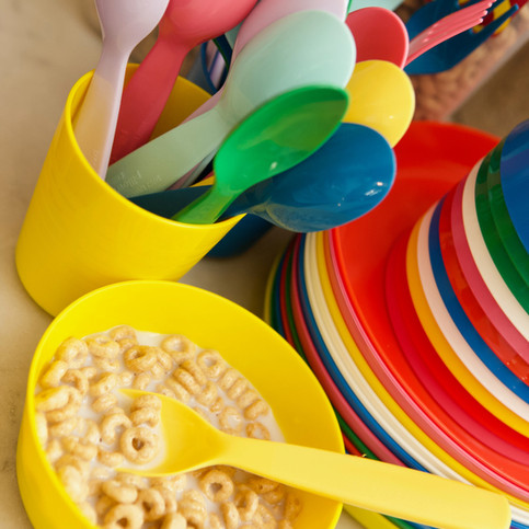 Colorful Utensils for our little ones