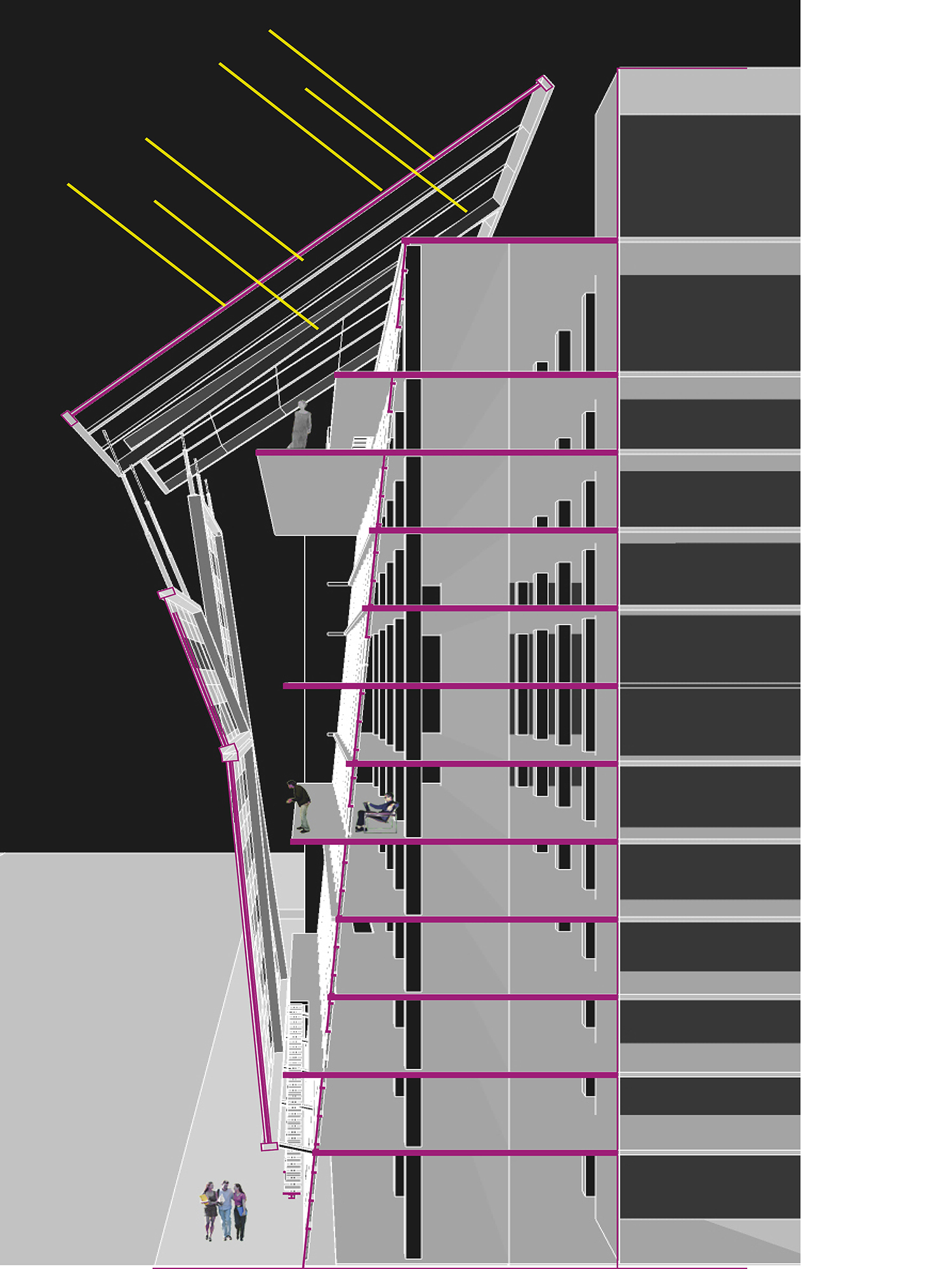 Building Skin Section