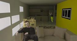 L Unit Interior View