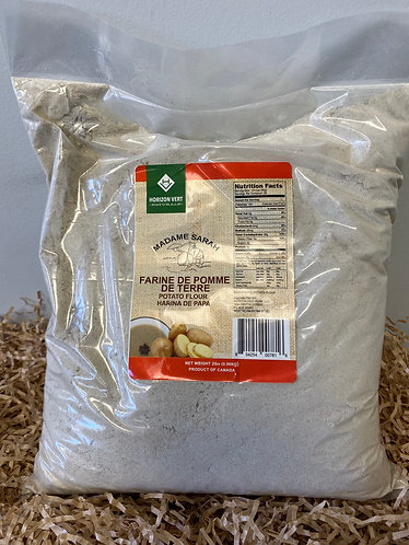 Potato flour (farine de pomme de terre)