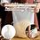Thumbnail: Bolsa/saco de silicone p/ misturar massas 32,5x24c