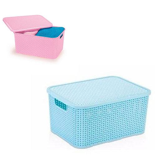 Mini caixa organizadora Rattan baby 3,5 litros