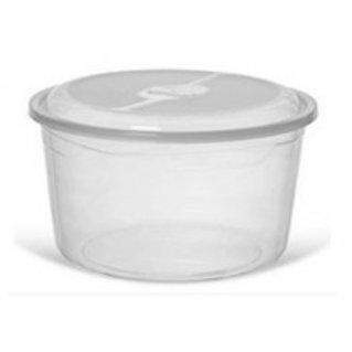 Pote de plástico redondo 5L Inplast 6877