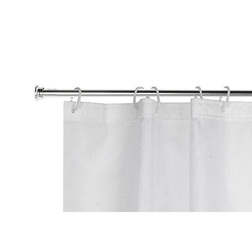 Barra para cortina de banheiro extensível 70-120cm TRC7523