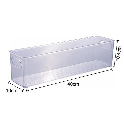 Organizador Multiuso de Plástico 40x10x10,4 cm