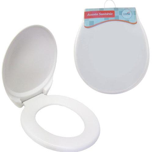Assento sanitário Branco adulto (PVC+espuma) GF004