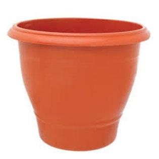 Vaso grande redondo 15L terracota 9745
